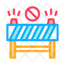 Road Barrier Rescuer Icon