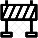 Security Check Police Line Police Barrier Icon