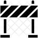 Road Barrier Road Stop Traffic Barrier Icon