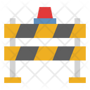 Road Barrier Under Construction Fix Icon