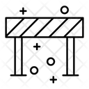 Road Barrier Road Block Barrier Icon