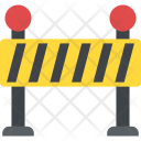 Road Barrier Under Icon