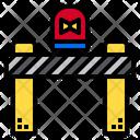 Road Block Construction Cone Traffic Cone Icon