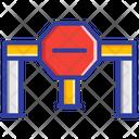 Road Block Icon