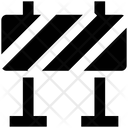 Road Block Road Barrier Barrier Icon