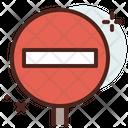 Road Blockage Icon
