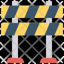 Road Blocker Barrier Icon
