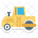 Road Bulldozer Road Plain Road Plain Bulldozer Icon