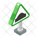 Road Bump Icon