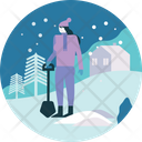 Winter Outdoor Snow Icon