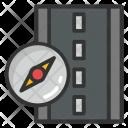 Road Compass Icon
