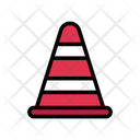 Cone Road Safety Icon