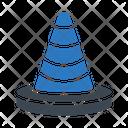 Cone Block Road Icon