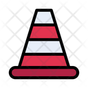 Cone Barrier Stop Icon