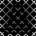 Block Cone Construction Icon