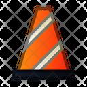 Cone Construction Traffic Icon
