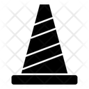 Police Cone Warning Stop Icon