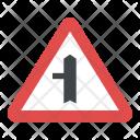 Mandatory Sign Turn Icon