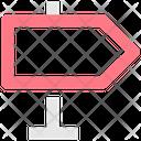 Road Direction Board Direction Board Direction Icon