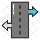 Road Guide Sign Icon