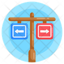 Road Directions Icon