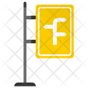 Motorway Sign Board Icon