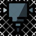 Road Drill Icon