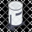 Road Dump Bin Icon