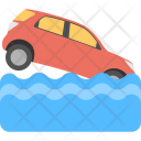 Road End Sign Icon