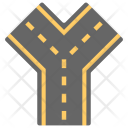 Road Junction Icon