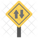 Road Label Directions Icon