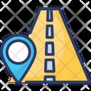 Road Location Street Direction Icon