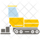 Road Maker Road Dumper Construction Vehicle Icon
