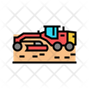 Machine Road Construction Icon