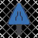 Road Close Alert Icon
