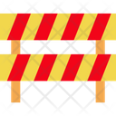 Road Obstruction Road Sign Icon