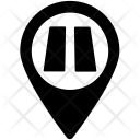 Road pin Icon