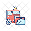 Road Plowing Plowing Truck Icon