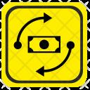 Road Pointer Exchange Icon