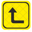 Road Pointer Left Icon
