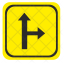 Road Pointer Right Icon