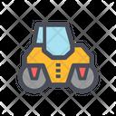 Road Roller Asphalt Roller Soil Compactor Icon