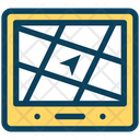 Road Route Direction Icon