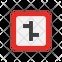 Arrow Traffic Navigation Icon