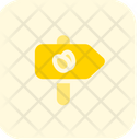 Road Sign Egg Icon