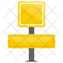 Road Signage Sign Icon