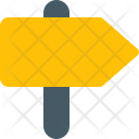 Signboard Road Sign Icon