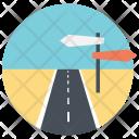 Road Signpost Icon