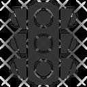 Light Signal Traffic Icon