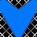 Road Symbol Gps Mark Location Arrow Icon